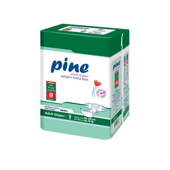 Pine Felnőtt Pelenka, M-es, 9 db