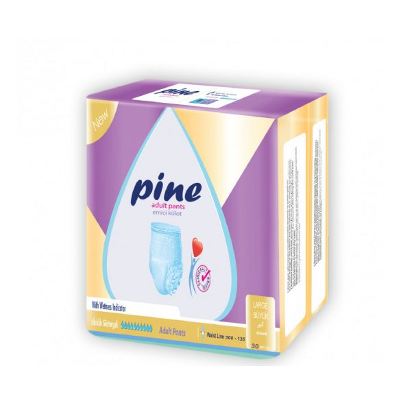 Pine Felnőtt Bugyipelenka, L-es, 30 db