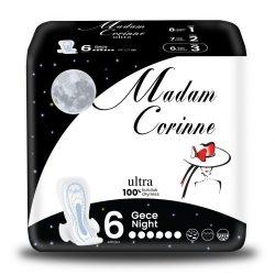 Madam Corinne Ultra NIGHT egészséügyibetét, 6 db