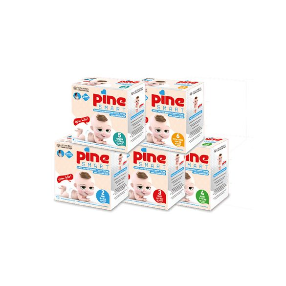 Pine Smart, okos pelenka, Midi 3, (4-9 kg), 22 db
