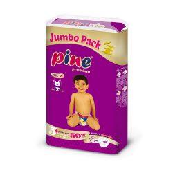 Pine Prémium pelenka, Junior 5+, 13-27 kg, 50 db