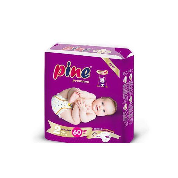 Pine Prémium pelenka Mini 2, 3-6 kg, 60 db