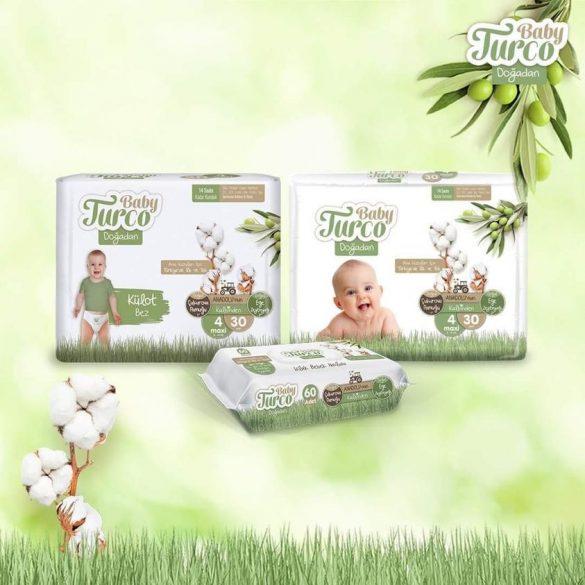 Baby Turco, Natúr Bugyipelenka, XL 6, (15-25 kg), 20 db