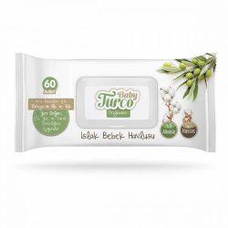 Baby Turco Nature Sensitive Baba Popsitörlő 60 db