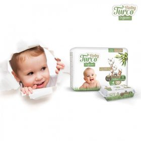 Baby Turco Nature Sensitive Baba Popsitörlő