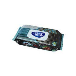 Fresh Mesh  nedves bőrtisztító  torlokendő fedeles, 40 db