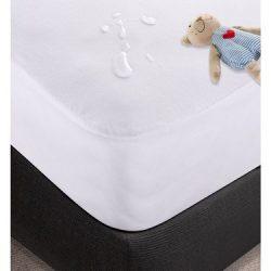 Gyermek Vízhatlan Frottír Matracvédő, Körgumis, 60x120 cm