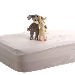 Gyermek Vízhatlan Pamut Jersey Matracvédő, körgumis, 60x120 cm