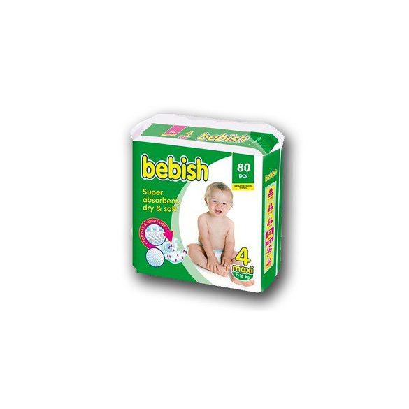 Honey Bebish Gazdaságos pelenka, Maxi 4, (7-18 kg), 80 db