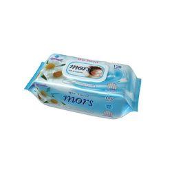 Mors Soft & Hygienic Kamilla illatú nedves törlőkendő fedeles  120 db